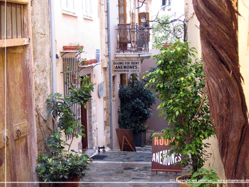 Anemones Apartments, rooms for rent i den gamle bydel i Chania